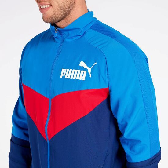 Chándal Puma Ionic Woven Azul
