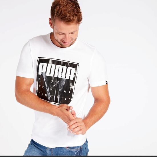 Camiseta Puma Blanca