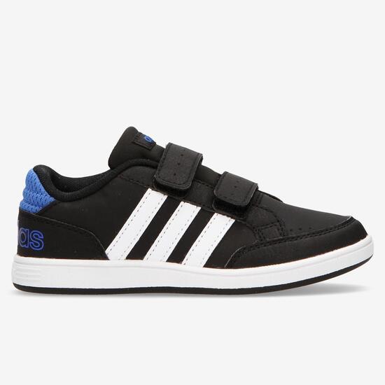 Zapatillas adidas Hoops Negro Niño (28-35)
