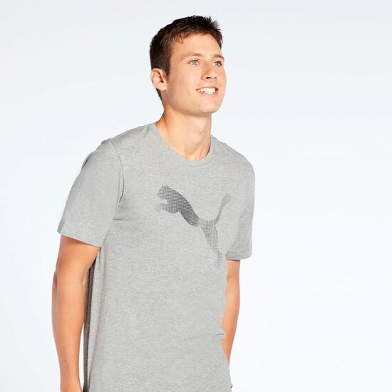 694d942bff Camiseta Puma Gris - Camiseta manga corta hombre