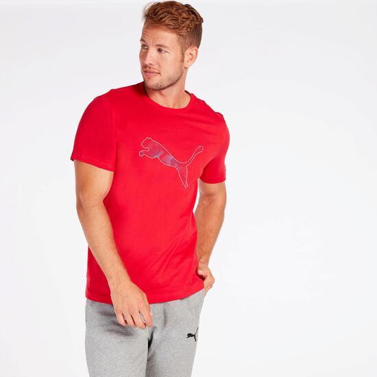 Camiseta Puma Roja