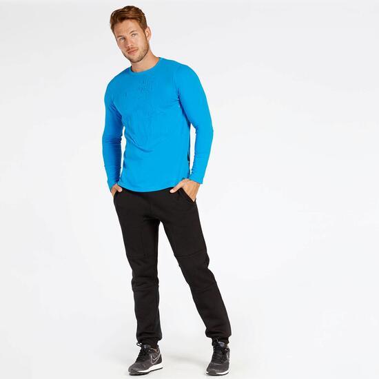 Camiseta Azul Silver Destroy