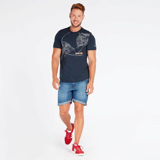 Camiseta Puma RBR Graphic Azul