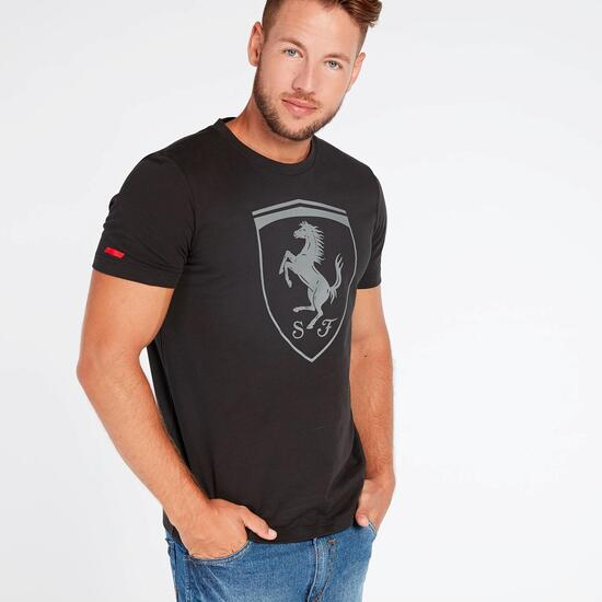 ce7d25ea99 Camiseta Puma Ferrari Big Shield Negra - Camiseta Manga Corta Hombre ...