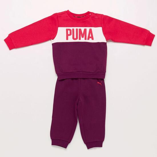 Chándal Puma Morado Bebé