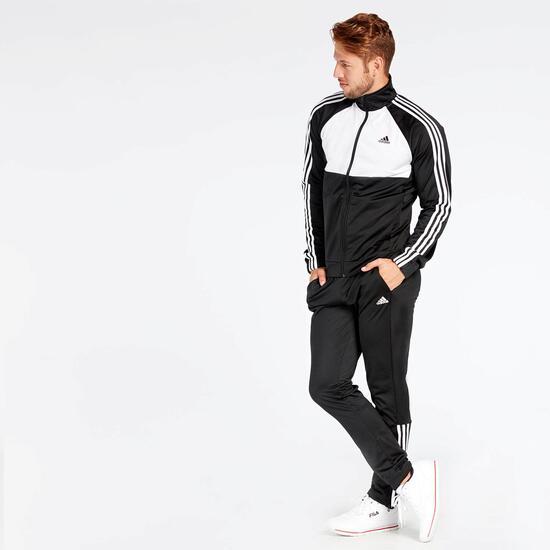 Chándal adidas Negro Blanco - Chándal hombre  4606c1c219e74