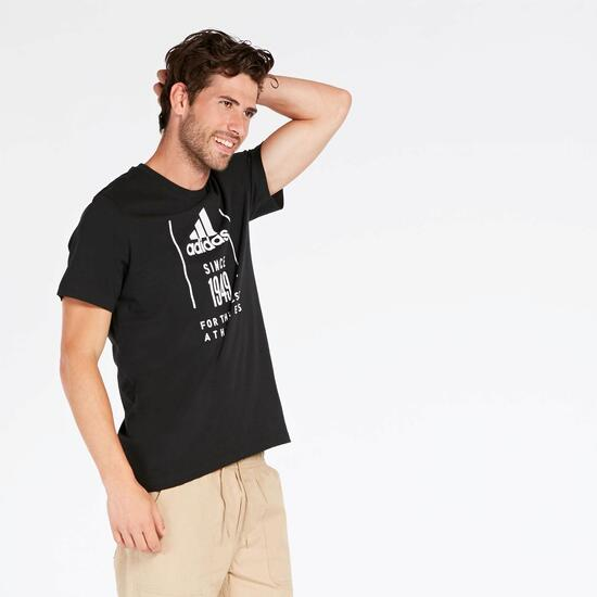 Camiseta adidas 1949 Negra Hombre