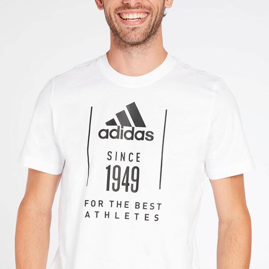 Camiseta adidas 1949 Blanca Hombre