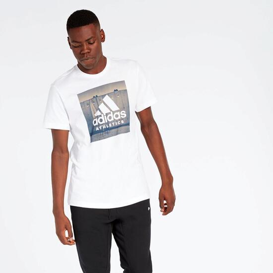 Camiseta adidas Blanca