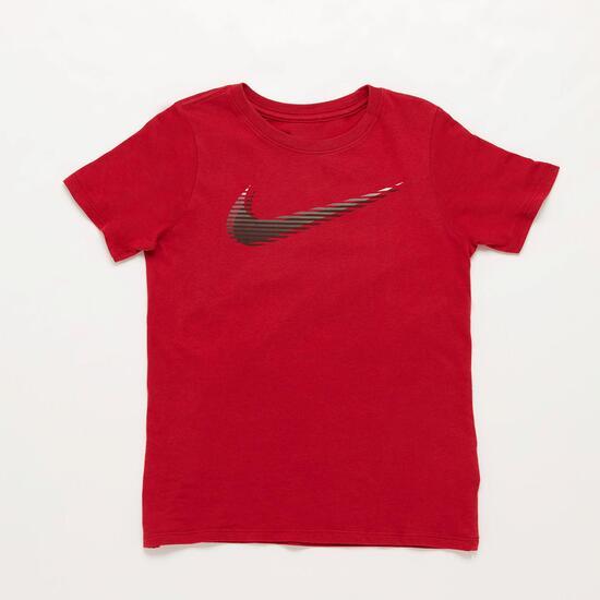 Camiseta Nike Roja Niño