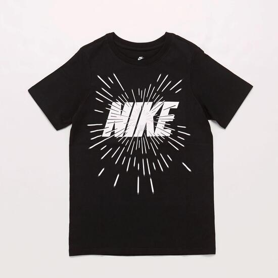 Camiseta Nike Negra Niño