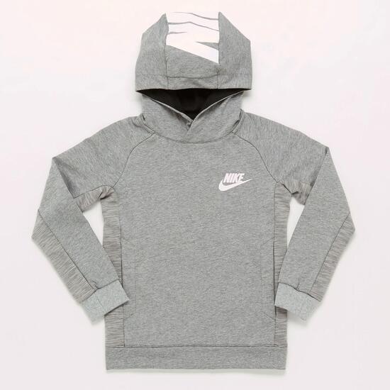 Sudadera Nike Gris Niño (10-16)