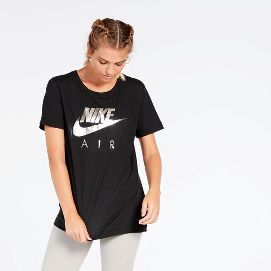 Camiseta Reebok Tee Air Negra Mujer