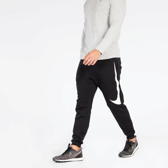 Pantalón Jogger Nike Negro Blanco - Pantalón Chándal hombre  179e75568ff9