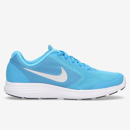 554a758297 Zapatillas Nike Revolution Azul Niño (36.5-38.5) - AZUL