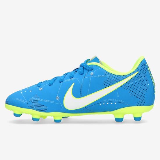 7b53dc7c24c66 Botas Fútbol Nike Mercurial Vortex Niño (36-38.5) - AZUL