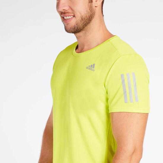 Camiseta Running adidas Verde