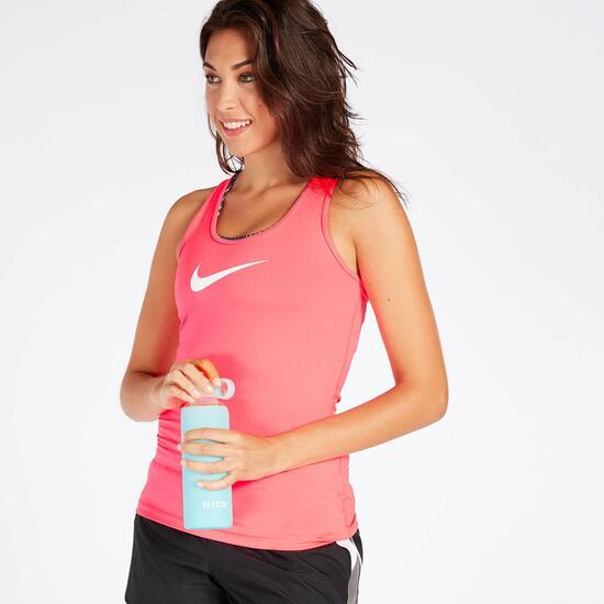 Camiseta Tirantes Nike Victory Fucsia Mujer
