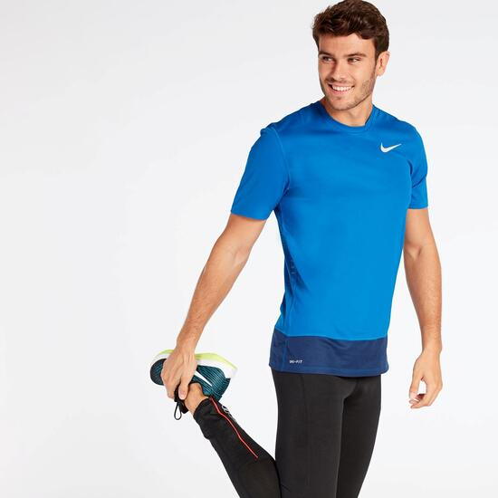 Camiseta Running Nike Azul