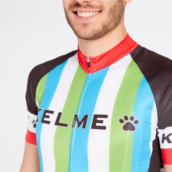 KELME LEGEND Maillot Ciclismo Verde Negro Hombre