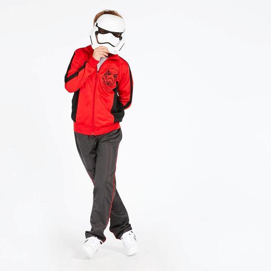 Chándal Star Wars Rojo Niño (10-16)