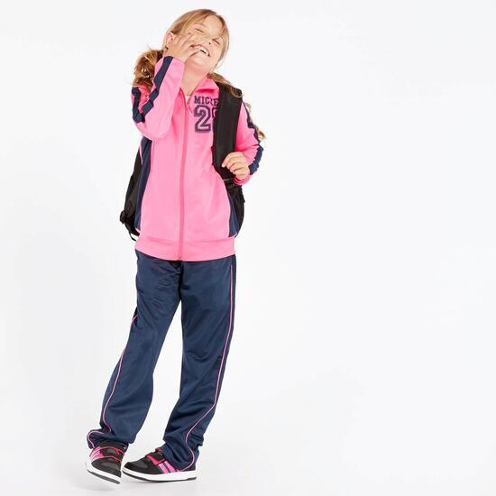 Chandal Mickey Fucsia Niña (10-16)