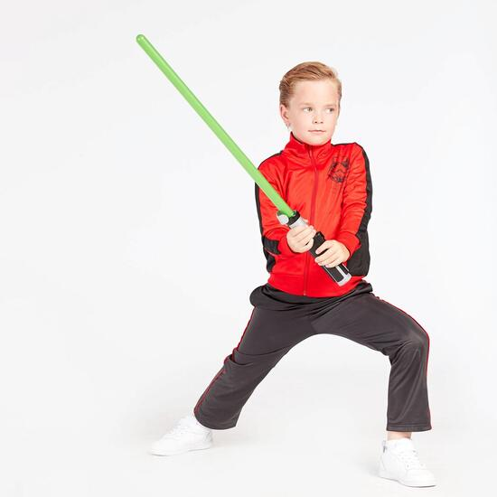 Chándal Star Wars Rojo Negro Niño (2-8)