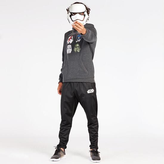 Sudadera Star Wars Negra Hombre