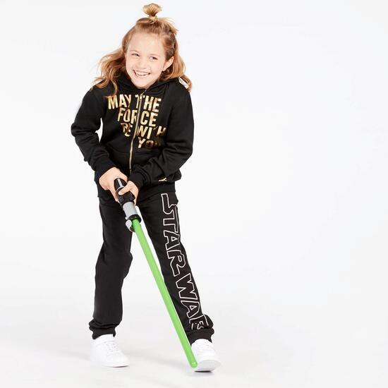 Sudadera Star Wars Negra Niña (10-16)