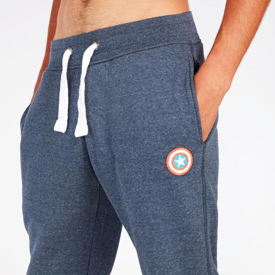Pantalón Marvel Azul Marino Hombre