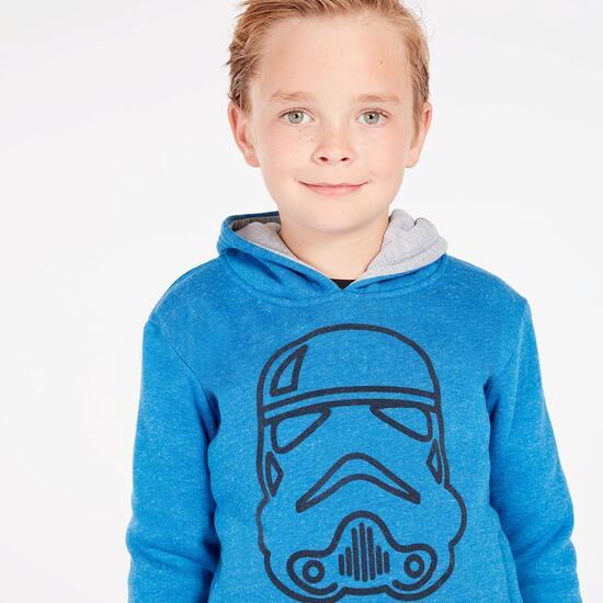 Sudadera Star Wars Azul Niño (2-8)