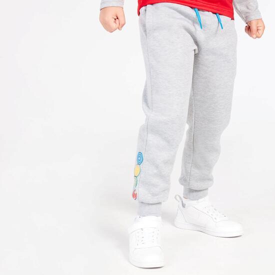 Pantalón Marvel Gris Claro Niño (2-8)
