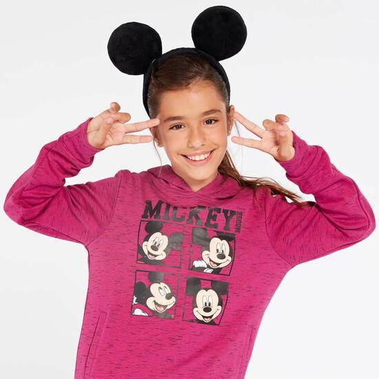 Sudadera Mickey Fucsia Niña (10-16)