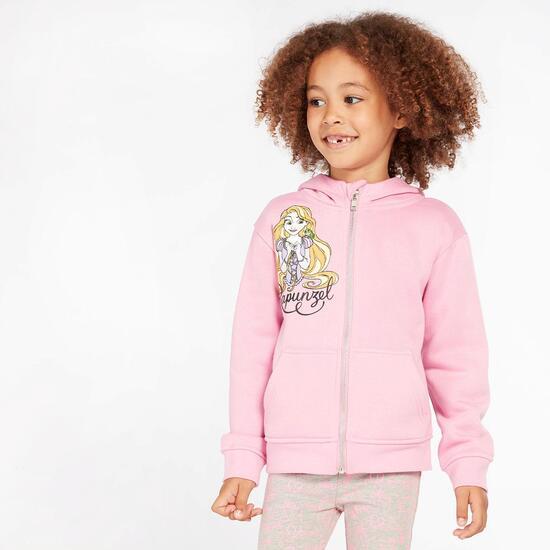 Sudadera Rapunzel Rosa Niña (2-8)