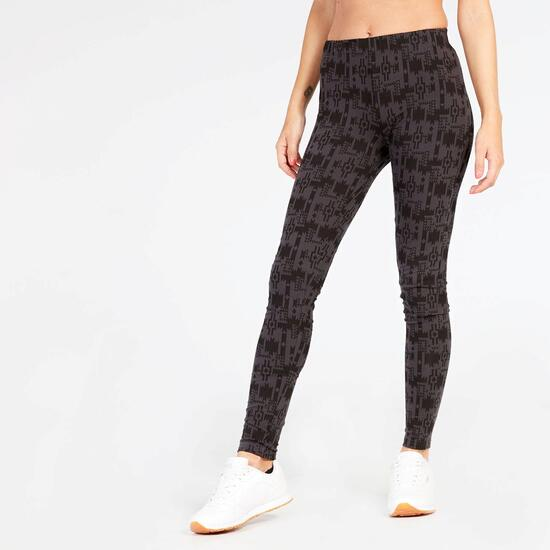 Leggins Negro Estampado Up Basic