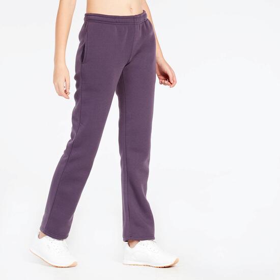 Pantalón Largo Morado Up Basic Felpa Mujer