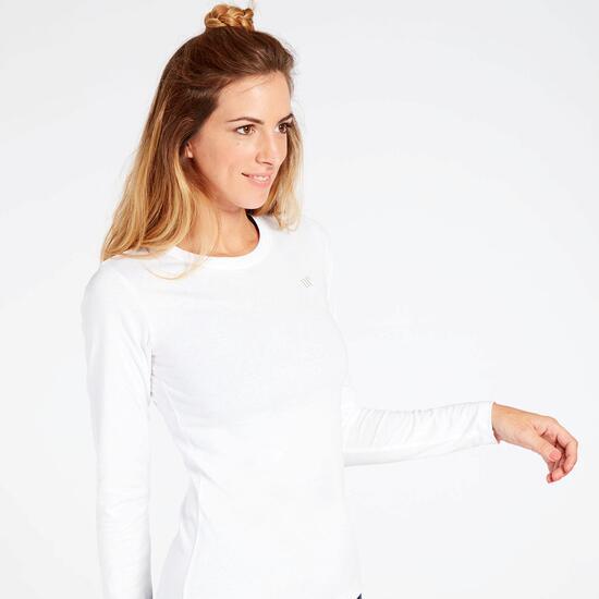Camiseta Manga Larga Blanca Up