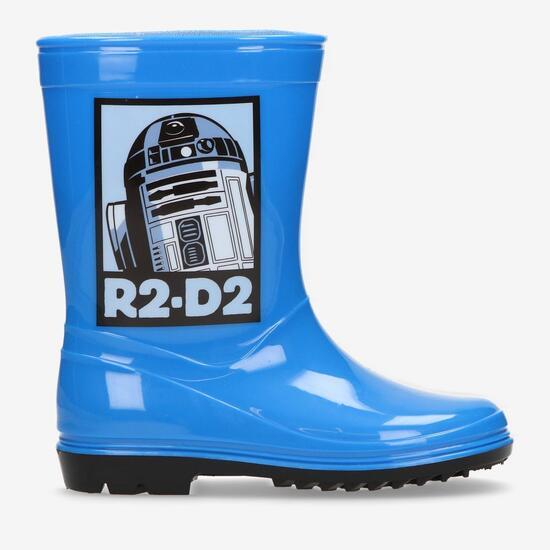 Botas Agua Star Wars Azules Niño (28-35)