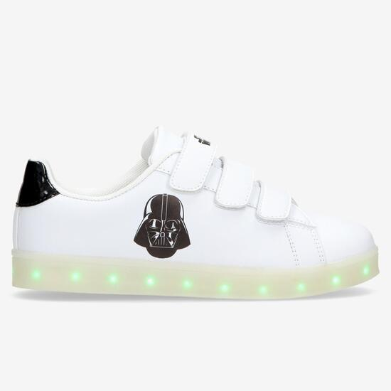 98d418a6ab Zapatillas Luces Star Wars Blanca Negro Niño (28-35) - BLANCO | Sprinter