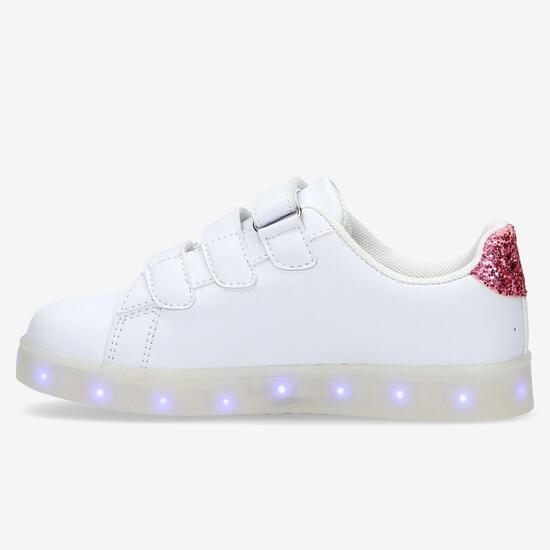 Zapatillas Star Wars Luces Blancas Niña (28-35)