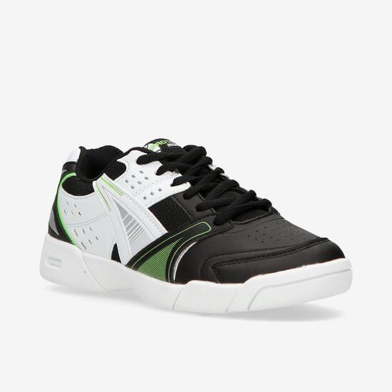 Zapatillas Tenis Negras Blancas Niño Proton (36-39)