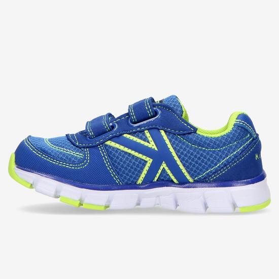 Zapatillas Running Kelme Azul Niño (22-27)