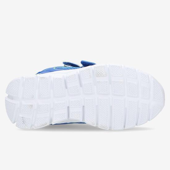 Zapatillas Deportivas Velcro Azules Niño (22-27)