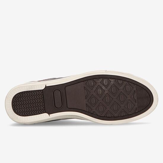 Zapatillas Bota Azul Silver