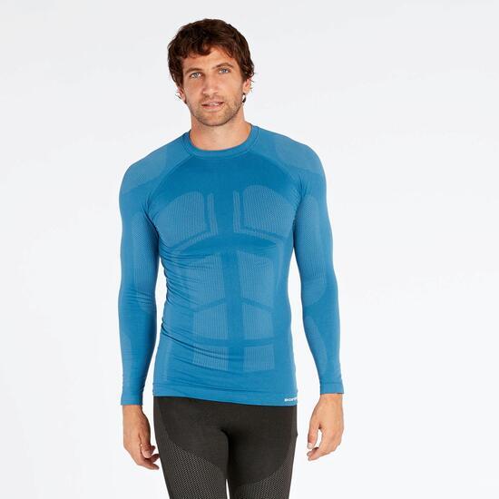 bb44db74f1b2d Camiseta Térmica Marino Boriken - AZUL - Camiseta hombre