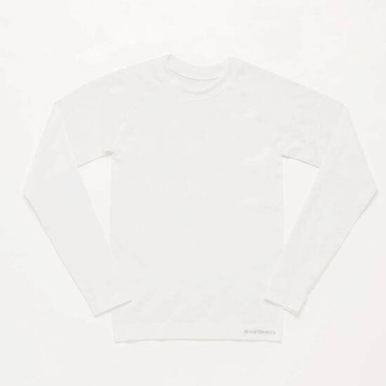 Camiseta Interior Blanca Junior Boriken