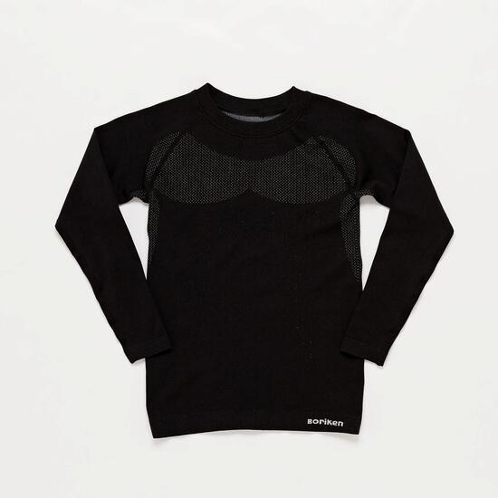 Camiseta Interior Negra Niño Boriken