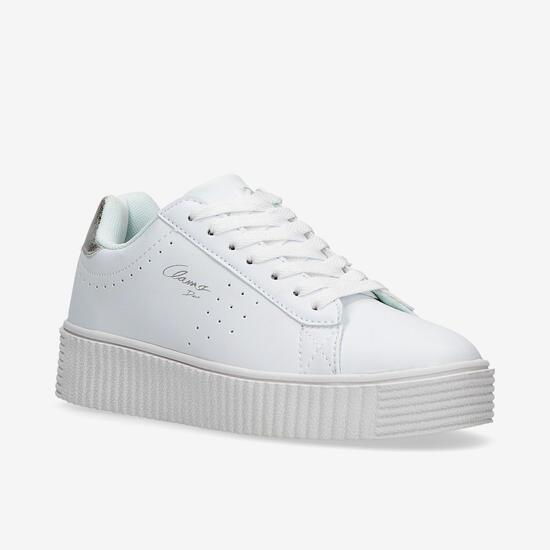 Zapatillas Blancas Mujer Silver