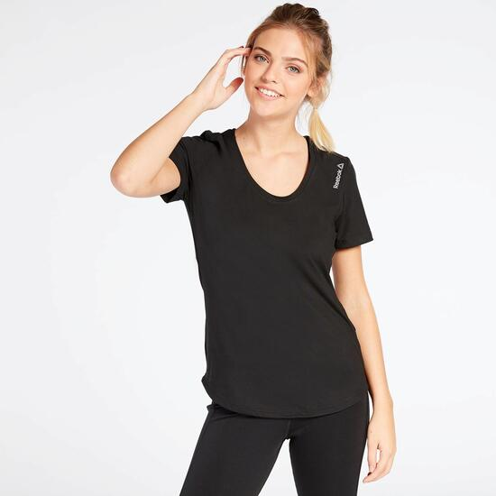 Camiseta Negra Reebok Work