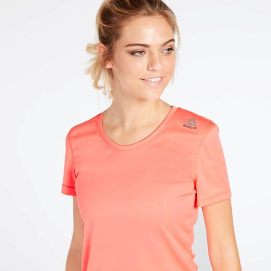 Camiseta Rosa Reebok Work